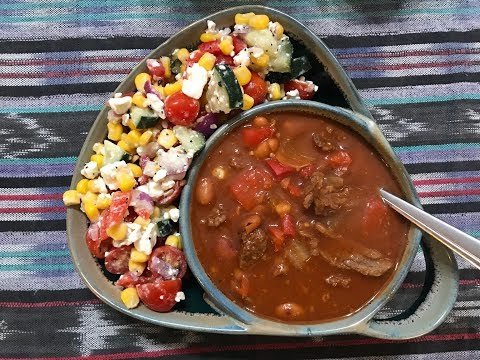 What I Ate On Weight Watchers Freestyle | Eddie's Beef Chili and 0 Smart Point Corn Salad!