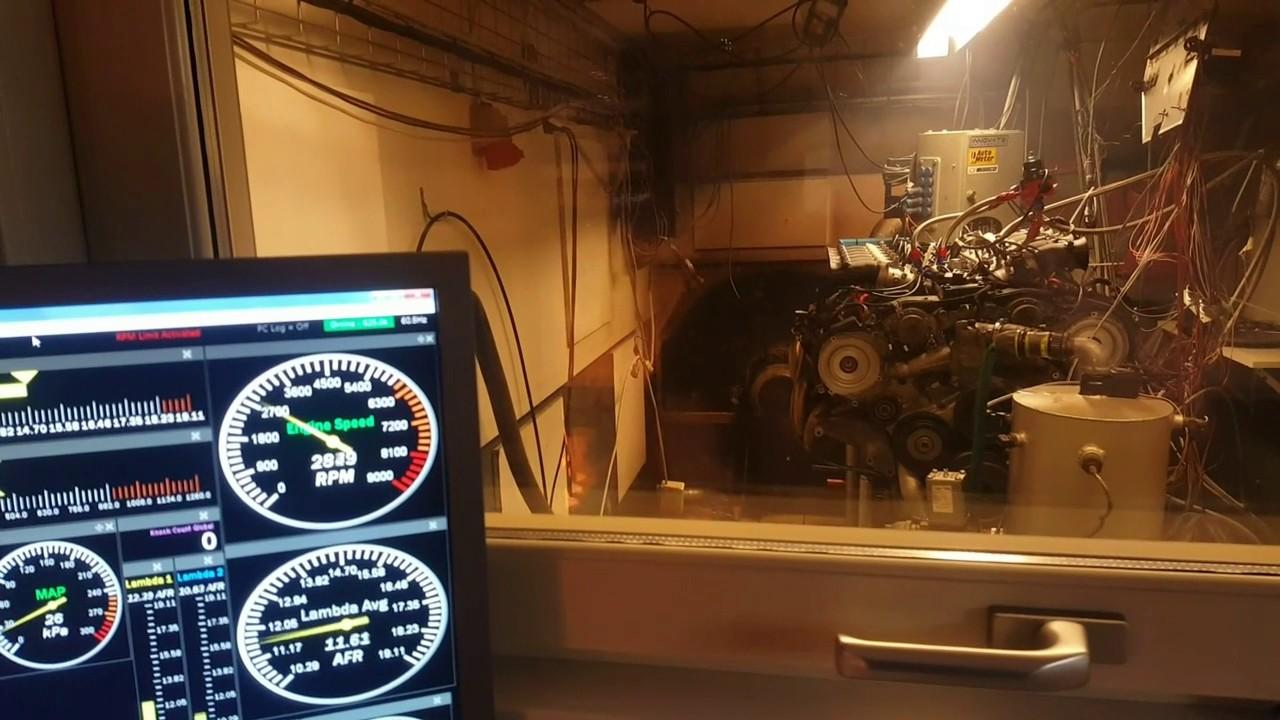M120 v12 Tuning engine dyno