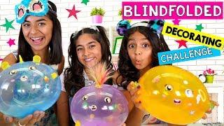 Blindfolded Decorating Challenge - ft. Oober Oonies // GEM Sisters
