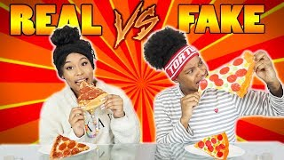 REAL VS FAKE CHALLENGE! Video