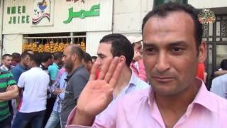 وقفة لحملة شهادات الماجستير والدكتوراه أمام مجلس الوزراء للمطالبة بتعيينهم