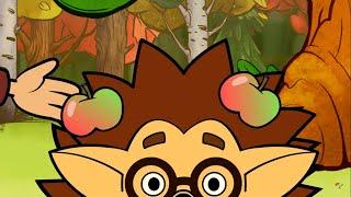 Теремок песенки для детей - Сто иголок у Ежа - новые мультики про животных