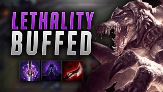 LETHALITY BUFFS BROKEN! FULL LETHALITY RENEKTON BUILD! - Road to Challenger #44