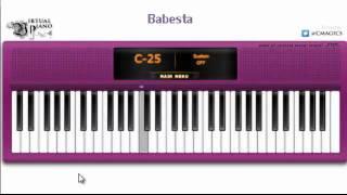 Virtual Piano - California King Bed By Rihanna