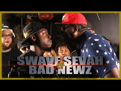 SWAVE SEVAH VS BAD NEWZ RAP BATTLE - RBE