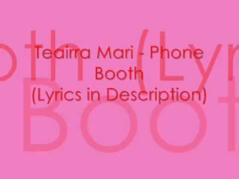 Teairra Mari - Phone Booth (Lyrics)
