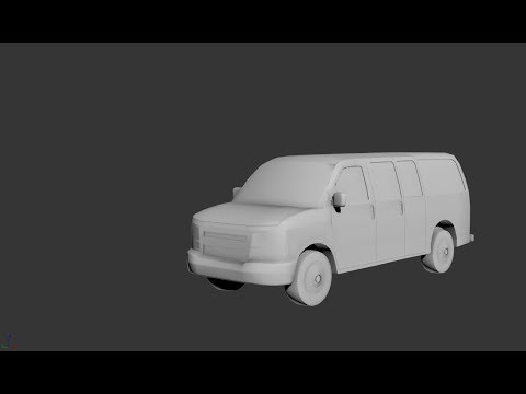 Modeling chevrolet express 3ds max tutorial part - 1