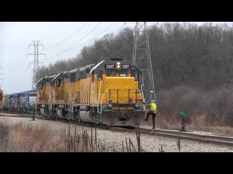 Shortline Saturday: Epic Chase of the Ann Arbor Railroad! (Drone Video)