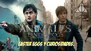 Easter Eggs, Curiosidades y Referencias de Animales Fantásticos y Donde Encontrarlos