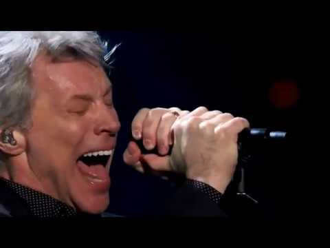 Bon Jovi Livin' on a Prayer at Rock & Roll Hall of Fame 2018 Mp3
