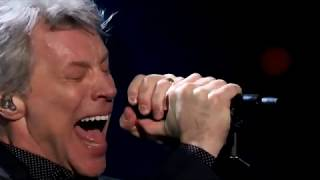 Bon Jovi Livin' on a Prayer at Rock & Roll Hall of Fame 2018