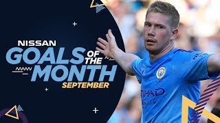 SEPTEMBER GOALS OF THE MONTH 19/20 | De Bruyne, Weir, Mahrez & Braaf
