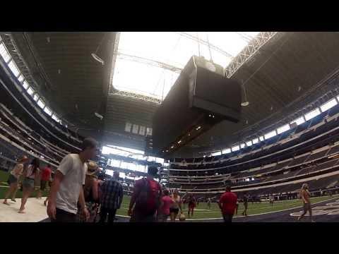 Dallas Stadium Tour - GoPro