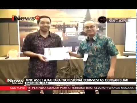 20 September 2017, MNC Asset Sosialisasi Reksa Dana kepada BKS Dapen-KI di Bali on iNews TV