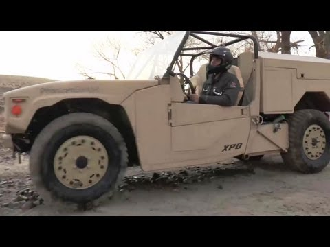 Boeing - Phantom Badger Combat Support Vehicle For Special Forces Unveiled [720p]