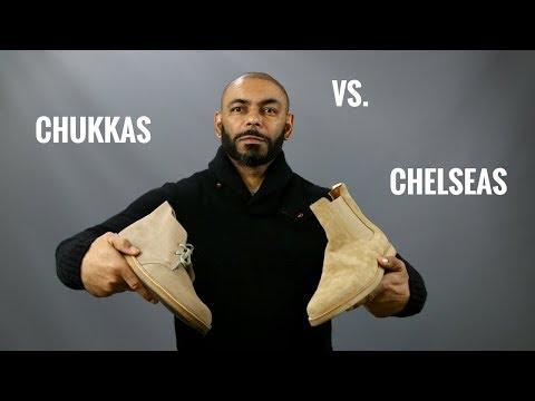 Chukka Boots Vs Chelsea Boots/Best Men's Boots, Chukkas Or Chelseas?