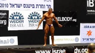מישל טרוני מר ישראל 2010