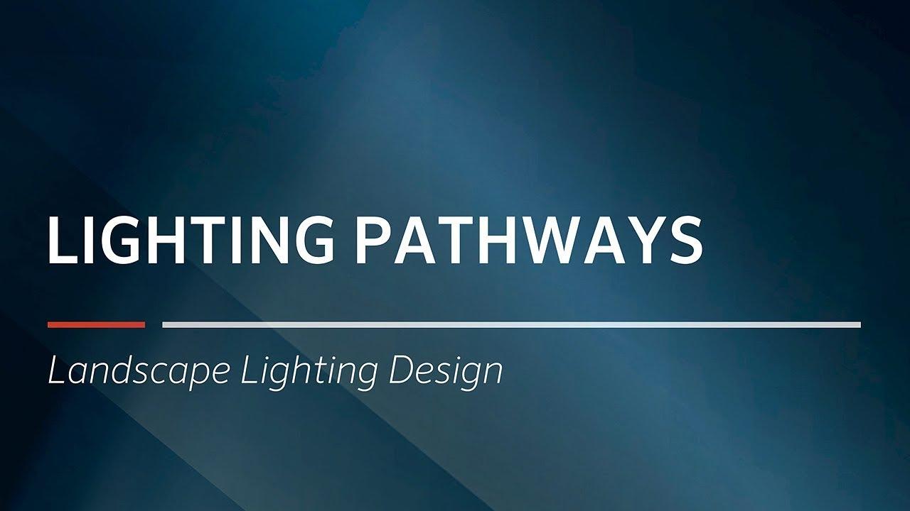Lighting pathways landscape lighting design by fx luminaire
