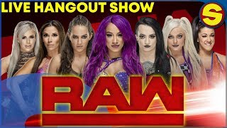 🔴  WWE RAW LIVE HANGOUT SHOW! PLAYING H1Z1 LATER 🔴