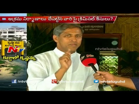 NTV Exclusive Interview With Manthena Satyanarayana Raju About Illegal Constructions