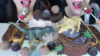 ASMR Chocolate Cake, Choco Ecl…