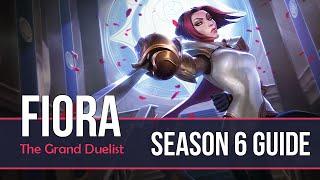 League of Legends Fiora Guide | Season 6 | Patch 6.11