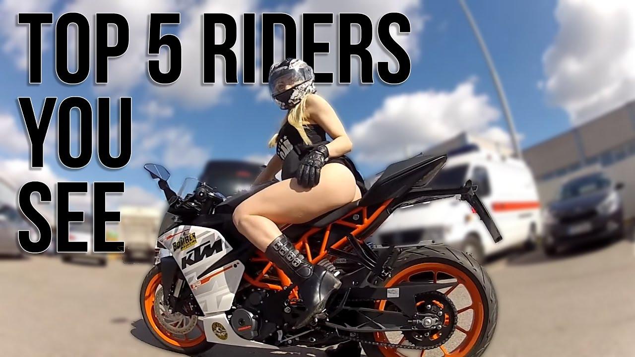 top 5 sport bike riders you always see youtube