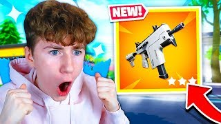 I DISCOVER THE NEW MITRAILILL PISTOLET to RAFALE TROP CHEAT! Fortnite Battle Royale