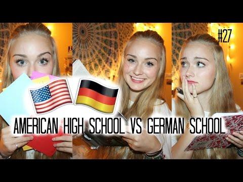 AUSLANDSJAHR 15/16 USA #27 American High School VS German School