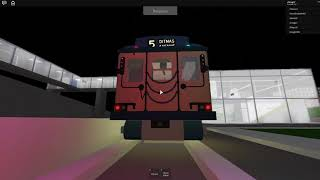 Roblox Subway Testing RARE: Nostalgia train