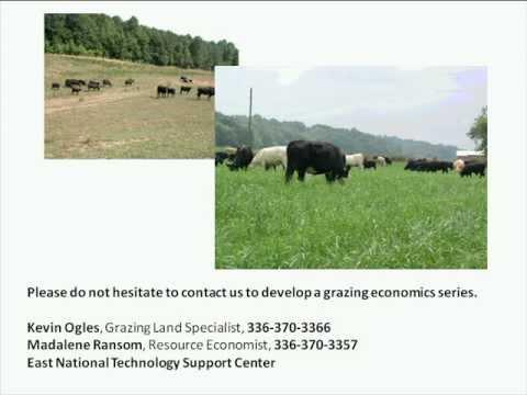 Economics of Poor Grazing Management