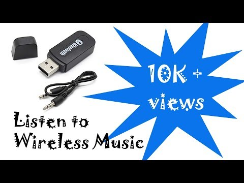 How to play music wireless with Bluetooth in any car