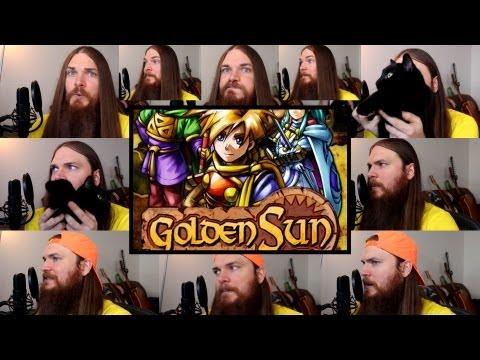 Golden Sun - Isaac Battle Theme Acapella