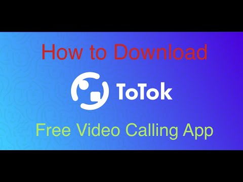 How to Download ToTok Free Video Call in the UAE. No VPN Needed, Unblocked. Best Free Calling App