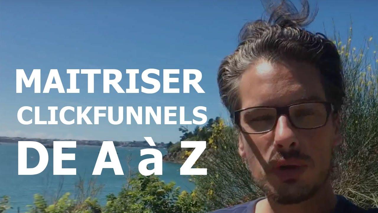 WEBMARKETING: Comment maitriser CLICKFUNNELS DE A à Z. Formation en FRANÇAIS