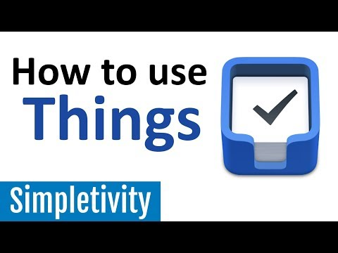 How to Use Things (To-Do List App | Keep Productive)