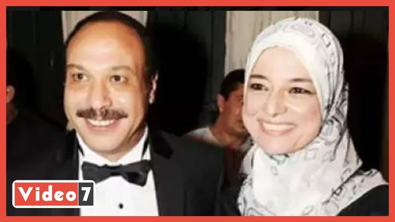 صلاة الجنازة على زوجة الفنان الراحل خالد صالح  - 12:59-2021 / 4 / 17