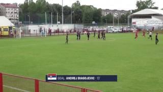 U-15 BNT vs. Serbia: Highlights - June 5, 2016