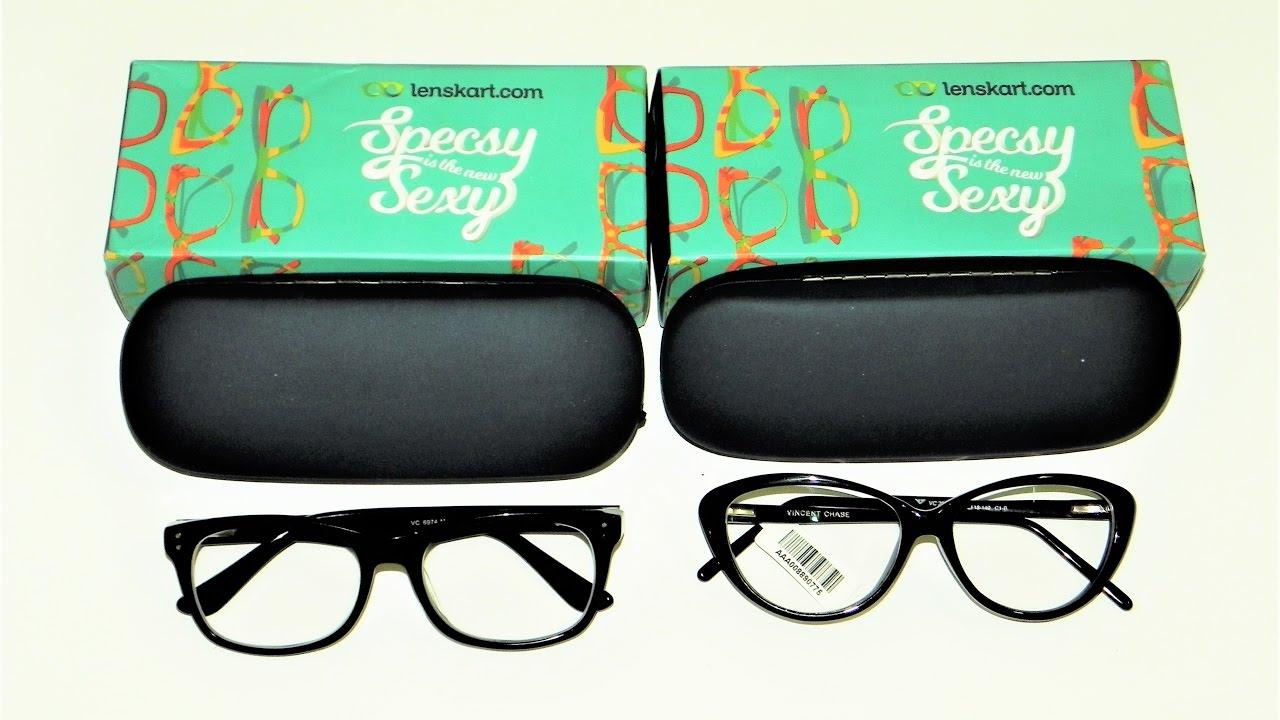 1d9d5215156 Unboxing   Review of LENSKART Eyeglasses    Vincent Chase    British Optics