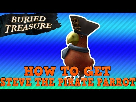 How to Get Steve the Pirate Parrot | Buried Treasure Roblox Event