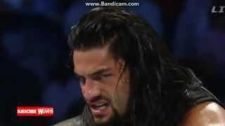 WWE Survivor Series:Roman Reigns VS Dean Ambrose Part 1 (For The Title)