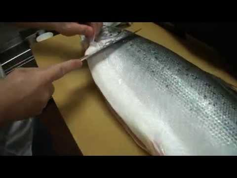 Thumbnail: How To Fillet a Whole Salmon - How To Make Sushi Series