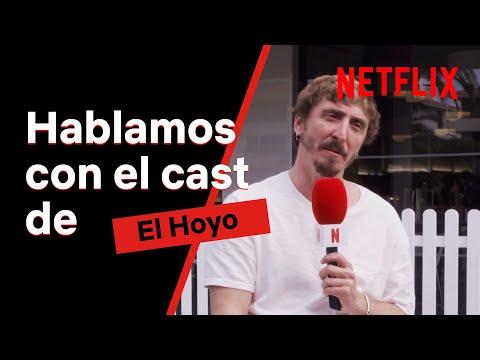 ¿CÓMO fue el RODAJE de EL HOYO para el REPARTO de la PELÍCULA? | Netflix España