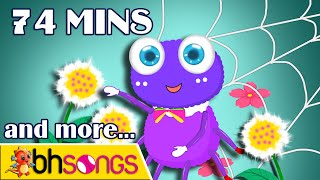 Incy Wincy Spider | ABC Song | Kids Songs | Nursery Rhymes Collection  [Ultra 4K 2015]