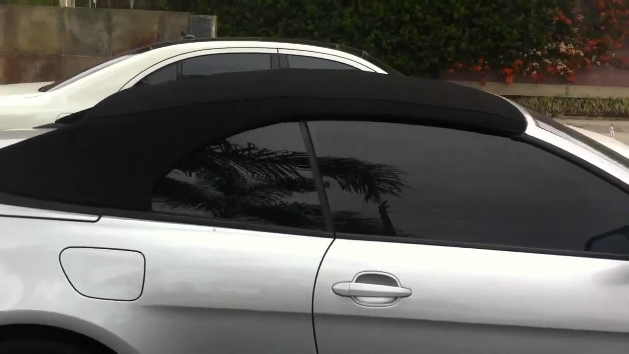 2008 Bmw 650i Window Tint Limo Al Amp Ed S Marina Del Rey