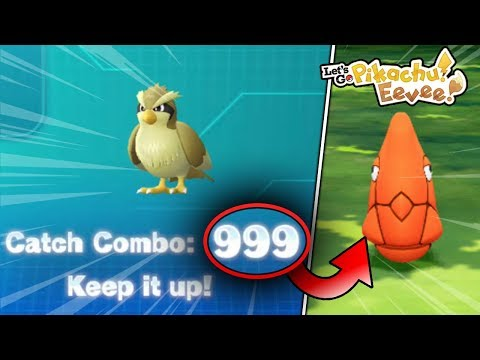 What Happens When You Get A Catch Combo Of 999 In Pokemon Let's Go Pikachu & Eevee? thumbnail