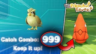 What Happens When You Get A Catch Combo Of 999 In Pokemon Let's Go Pikachu & Eevee?