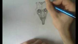 DRAWING THE EIGHT-TAIL (NARUTO)