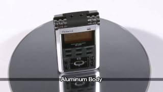 Roland R-05 WAVE MP3 Recorder Demo Part 1