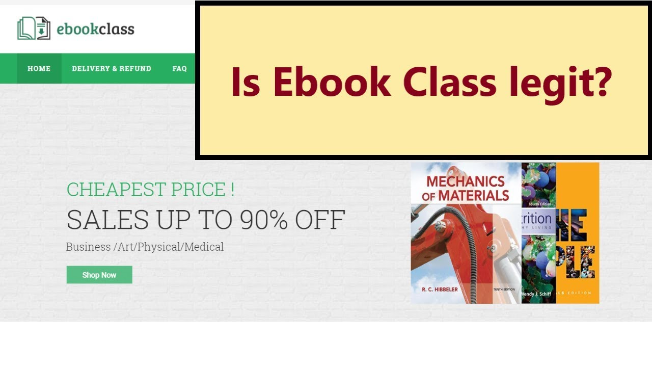 Ebookclass Com Is Ebook Class Legit My Review About This Online